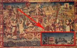 изображения нло на древних картинах