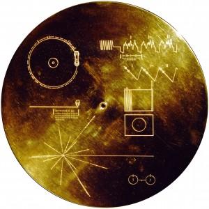 золотая пластина вояджер 1