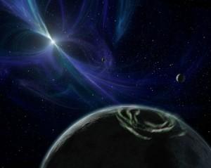 экзопланеты PSR 1257 b и PSR 1257 c