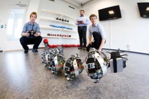робот змея для освоения марса