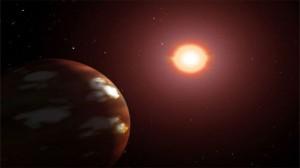 планета из горячего льда