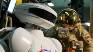 русский робот для МКС