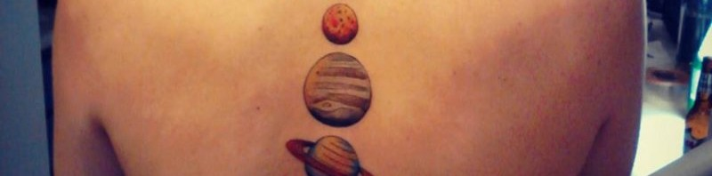 космос татуировка