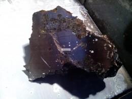 Челябинский метеорит распилен