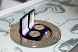 олимпийская медаль с меторитом