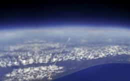 запуск ракеты вид из космоса