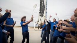 Ракету впервые в истории успешно посадили