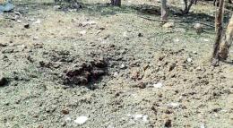 Метеорит упал на человека